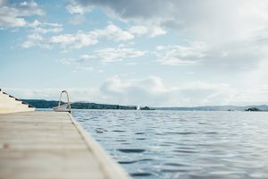 I am passionate about outdoor swimming!